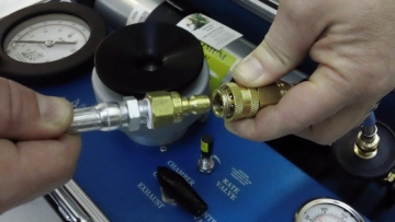 Filling the Model 615 Tank PMS Instruments