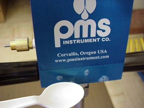 Pump up chamber is leaking PMS Instruments