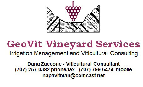 Geo Vit Vineyard Services Logo Irrigation Management Viticultural consulting