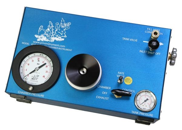 Model 610 Pressure Chamber Instrument